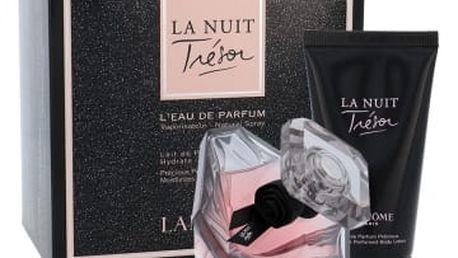 Lancome La Nuit Trésor dárková kazeta pro ženy parfémovaná voda 50 ml + tělové mléko 50 ml