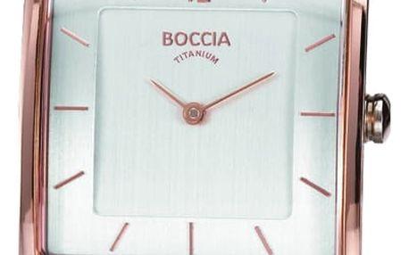 Boccia Titanium 3143-02 + pojištění hodinek, doprava ZDARMA, záruka 3 roky