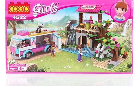 COGO Girls Stavebnice Vědecká stanice - 440 ks