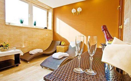 2–3denní romantický či wellness pobyt pro 2 v Grand Boutique hotelu Sergijo v Piešťanech