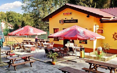 3 dny v Polabí: výhled na řeku i rybí restaurace
