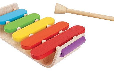 Plan Toys Oválný xylofon