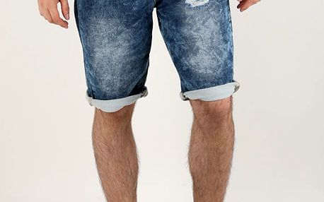 Kraťasy Alcott BACK POCKET DENIM Modrá