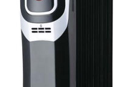 Olejový radiátor Ardes 4R09 černý