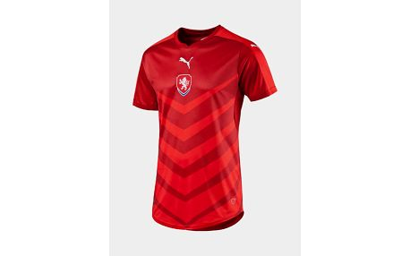 Dres Puma Czech Republic Home Replica Shirt chili Červená