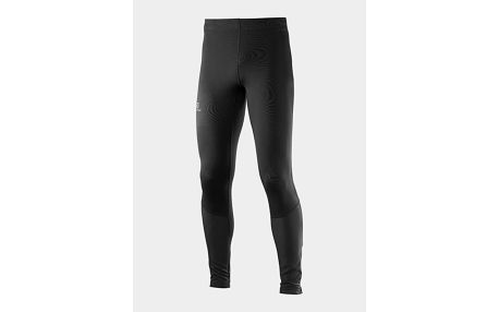 Legíny Salomon AGILE LONG TIGHT M BLACK Černá