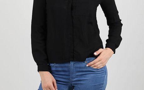 Košile Alcott SOLID COLOR SHIRT Černá