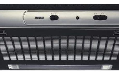 Odsavač par Zanussi ZHT530X černý/nerez