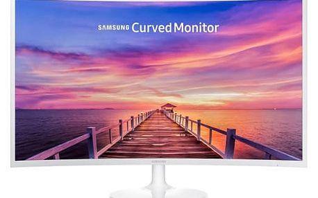 Monitor Samsung C32F391 (LC32F391FWUXEN) bílý