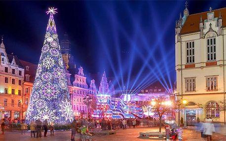Celodenní zájezd pro 1 na vánoční trhy ve Vratislavi v Polsku s prohlídkou města