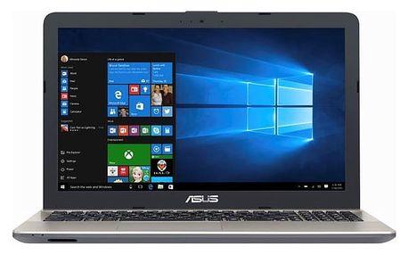 Notebook Asus X541UA-DM1233T (X541UA-DM1233T) černý Software Microsoft Office 365 pro jednotlivce CZ + Software F-Secure SAFE, 3 zařízení / 6 měsíců + Monitorovací software Pinya Guard - licence na 6 měsíců v hodnotě 2 278 Kč + DOPRAVA ZDARMA