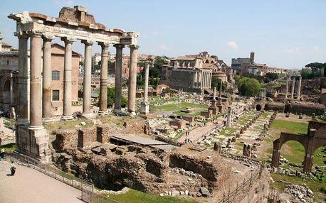 Itálie, Řím, letecky na 4 dny se snídaní