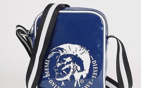 Taška Diesel SLIM RICHIE - cross bodybag Modrá