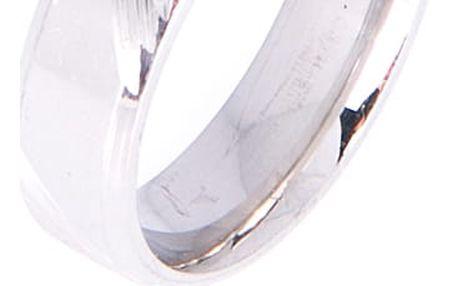 Prsten s rytinou chirurgická ocel chirurgická ocel bez kamínku 016112