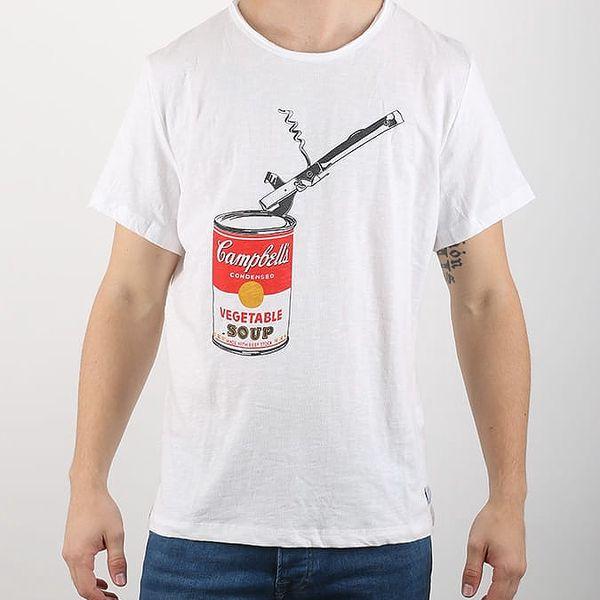 Tričko Pepe Jeans OPENER Bílá