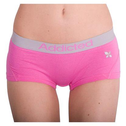 Dámské Kalhotky Addicted Růžová S