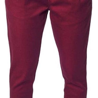 Kalhoty Horsefeathers Cookie ruby 29