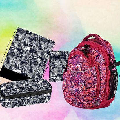 Vychytané školní sety: batoh a další pomůcky