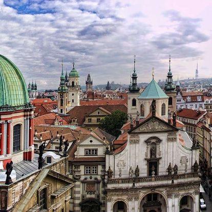 4* Hotel Ehrlich nedaleko centra Prahy s dítětem zdarma