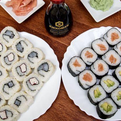 Kacumo set: 32 kousků čerstvého sushi s sebou