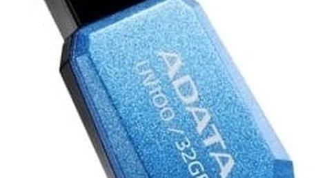 ADATA UV100 32GB, modrá - AUV100-32G-RBL