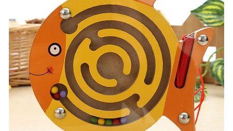Dětská hračka Magnetický labyrint