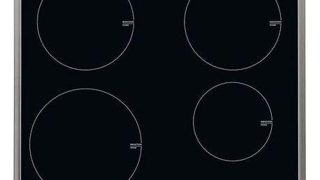 Indukční varná deska AEG Mastery HK634200XB černá/sklo