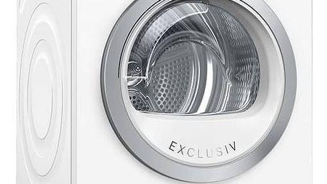 Sušička prádla Bosch WTH85290BY bílá + Doprava zdarma