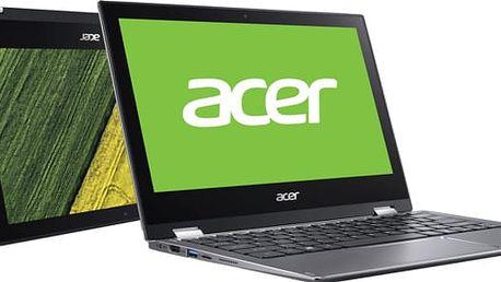 Acer Spin 1 (SP111-32N-C2RB), šedá - NX.GRMEC.002