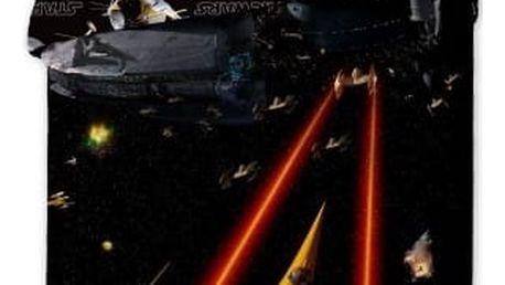 Jerry Fabrics Dětské povlečení STAR WARS SPACESHIPS 140x200, 70x90