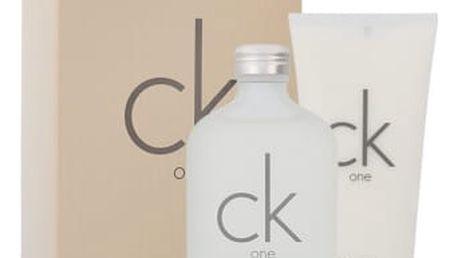 Calvin Klein CK One dárková kazeta unisex toaletní voda 200 ml + tělové mléko 200 ml