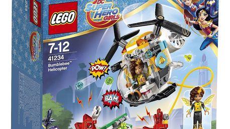 LEGO® DC Super Hero 41234 Girls Bumblebee™ a helikoptéra