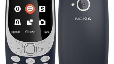 Mobilní telefon Nokia 3310 (2017) Dual SIM (A00028108) modrý