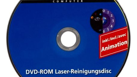 Čisticí CD, DVD, miniDV Hama 1ks DVD (48499)