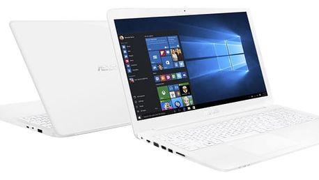 ASUS VivoBook R517NA, bílá - R517NA-DM099T