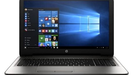 Notebook HP 15-ba071nc (Y5K37EA#BCM) stříbrný