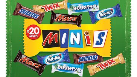 Mars mixid minis 20ks