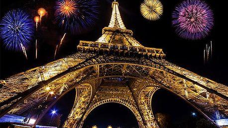 4denní silvestrovský zájezd pro 1 do Paříže s ubytováním, snídaní a sektem