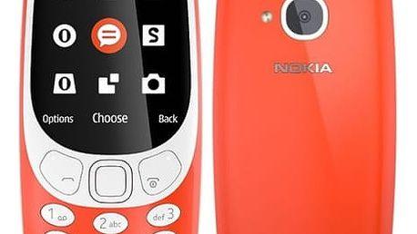 Mobilní telefon Nokia 3310 (2017) Dual SIM (A00028109) červený