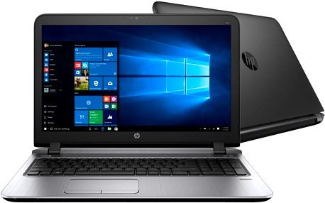 HP ProBook 450 G3, černá - W4P12ES