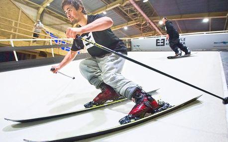 Lyžovačka v Praze: trénink a jízda na simulátoru