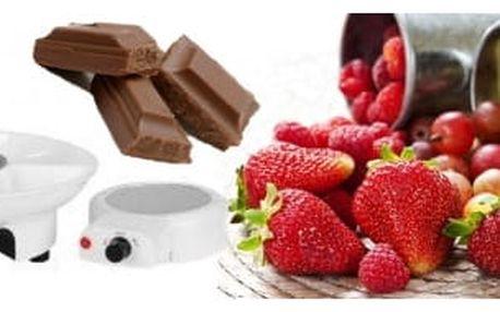 Sada na domáci fondue - pochutnejte si na čokoládovém pokušení!