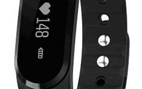 Fitness náramek Umax U-Band 101HR (UB503) černý