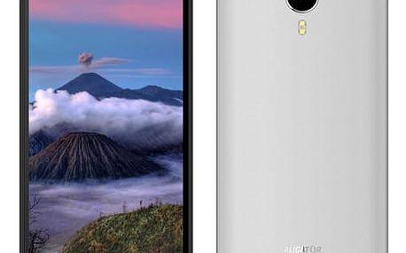 Mobilní telefon Aligator S5060 Dual SIM (AS5060SR) stříbrný