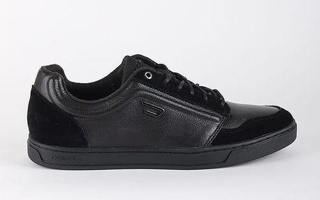 Boty Diesel E-PRIME LOW - sneakers Černá