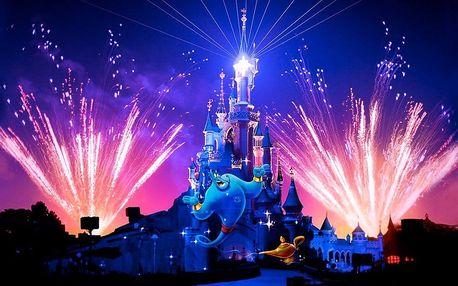 Pohádkový zájezd do Disneylandu a Paříže na 1 noc