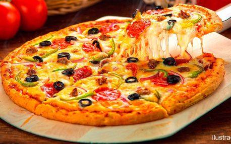 Největší pizza v Brně s průměrem 60 cm