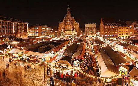 Celodenní zájezd pro 1 do Norimberku na vánoční trhy s možností prohlídky města