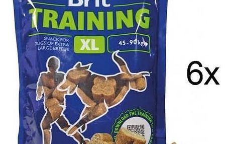 Pochoutka Brit Premium Training Snack XL 6 x 500g