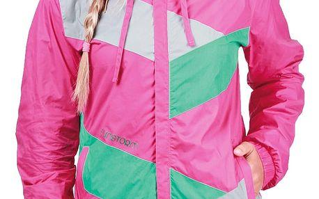 Bunda Funstorm Lamesa pink M